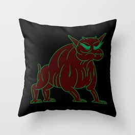 zuul - ghostbusters Throw Pillow