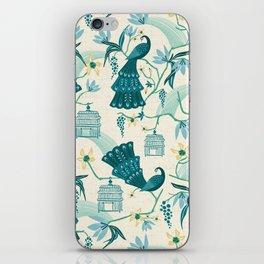 Aviary - Cream iPhone Skin