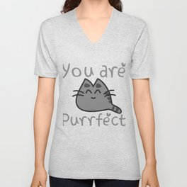 You Are Purrfect Unisex V-Neck