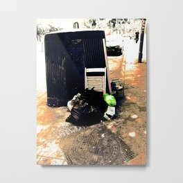 Beautiful trash Metal Print