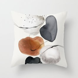 Abstract World Throw Pillow