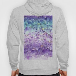 Alexandrite crystal rough cut Hoody