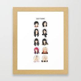VV Framed Art Print