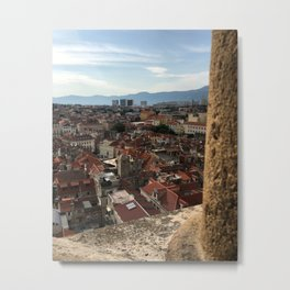 View From The Cathedral of Saint Domnius Metal Print