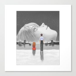 End of Evangelion Canvas Print