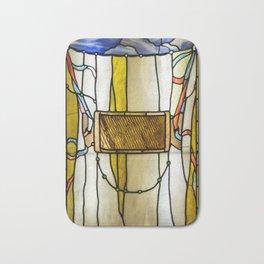 """John La Farge """"Trompe L'Oeil Curtain"""" 1882-1884 Bath Mat"""