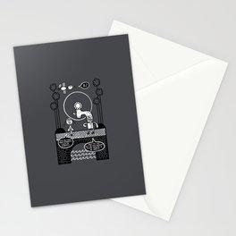 Romantic Malignant Brain Deformity Stationery Cards