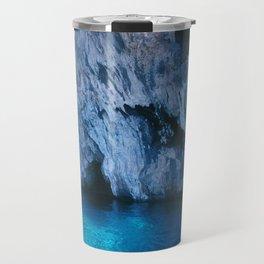 NATURE'S WONDER #5 - BLUE GROTTO (Turkey) #2 #art #society6 Travel Mug
