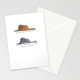 Monoprinting Le Petit Prince Stationery Cards