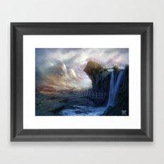 Gates to Erindor Framed Art Print