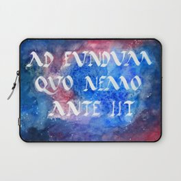 To Boldly Go Laptop Sleeve