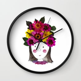 I'm a Girl Wall Clock