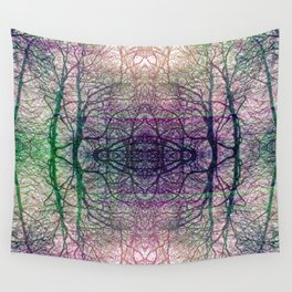 Arboreal symphony Wall Tapestry