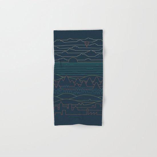 Linear Landscape Hand & Bath Towel
