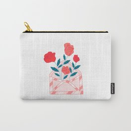 Roses Love Envelope Carry-All Pouch