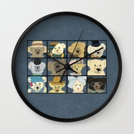 Teddy Bears Wall Clock