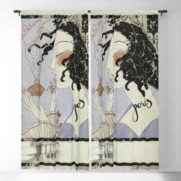 La Boheme Paris Art Deco Blackout Curtain