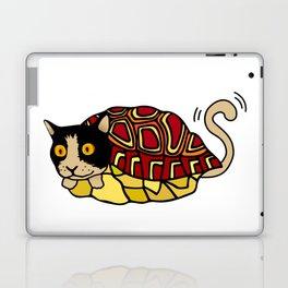tortoiseshell cat Laptop & iPad Skin