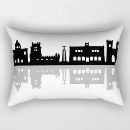 lisbon skyline Rectangular Pillow
