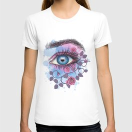 Floral Eye T-shirt