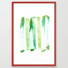 Green Obsession Framed Art Print