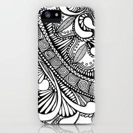 Zentangle iPhone Case