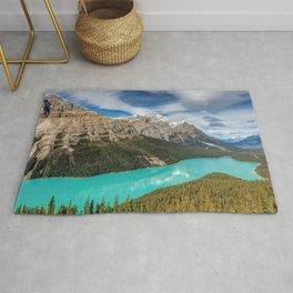 Peyto Lake Banff National Park Alberta Canada Ultra HD Rug