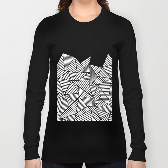 Abstraction Mountain Long Sleeve T-shirt