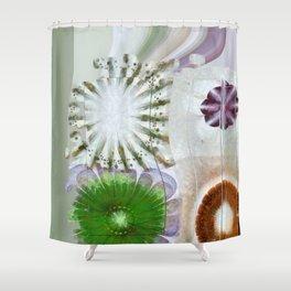 Jinglier Agreement Flower  ID:16165-063358-87521 Shower Curtain