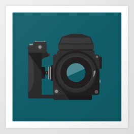 Camera Series: ETR Art Print