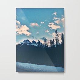 Canadian Rockies Print Metal Print
