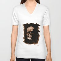 anatomy V-neck T-shirts featuring Anatomy by Notwhatnot