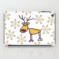 reindeer iPad Cases featuring Reindeer by Mr and Mrs Quirynen