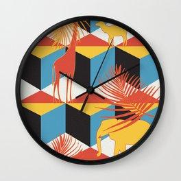 mammalia Wall Clock