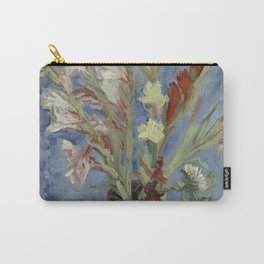 Vincent Van Gogh - Vase with Chinese Asters and Gladioli Carry-All Pouch