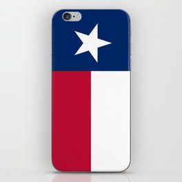 Texas state flag, High Quality Authentic Version iPhone Skin