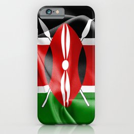 Kenya Flag iPhone Case