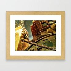Windshield Framed Art Print
