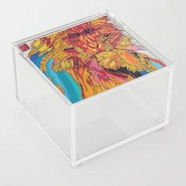 2016: Year of the Monkey Acrylic Box