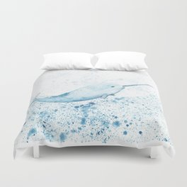 Magical Narwhal Duvet Cover