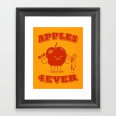Apples 4EVER Framed Art Print