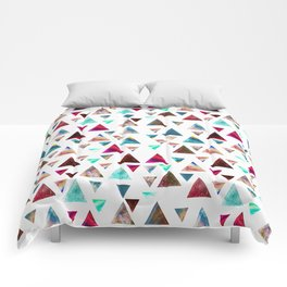 Multicolor Trianspace Comforters