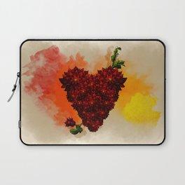Blooming Heart Laptop Sleeve