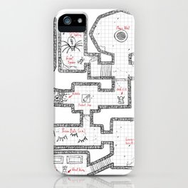 Hardcore Dungeoncrawler iPhone Case