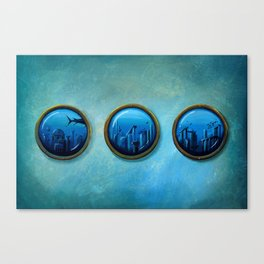 Gateway To Antiquity  Canvas Print