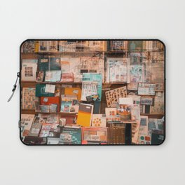 Collectibles Shop in Gent Laptop Sleeve