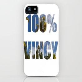 100% Vincy iPhone Case
