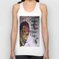salvador dali Tank Tops featuring Salvador Dali by Ruby Chavez
