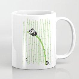 Panda on Bamboo Coffee Mug