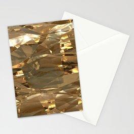 Golden Foil Stationery Cards